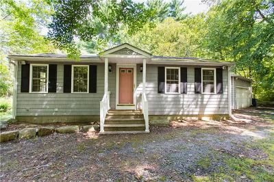 Foster Single Family Home Active Under Contract: 127 Plainwoods Road