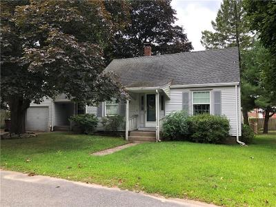 Woonsocket Single Family Home For Sale: 142 Rutland St