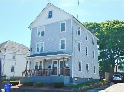 Pawtucket Multi Family Home Act Und Contract: 916 Mineral Spring Av