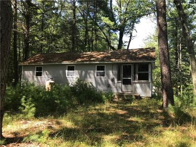 Glocester Single Family Home For Sale: 202 George Allen Rd