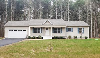 Hopkinton RI Single Family Home For Sale: $429,000