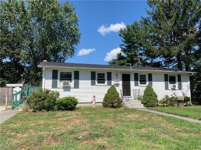 Warwick RI Single Family Home For Sale: $239,000