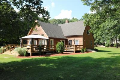 Burrillville Single Family Home For Sale: 855 Lapham Farm Rd