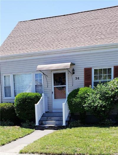 Cranston Single Family Home For Sale: 34 Leslie St