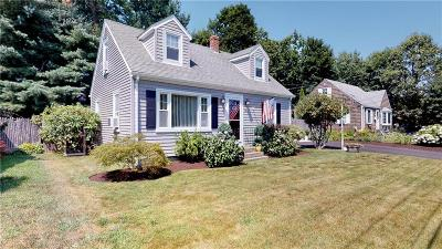 West Warwick Single Family Home For Sale: 161 Lockwood St