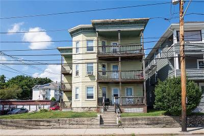 Woonsocket Multi Family Home For Sale: 120 Cass Av