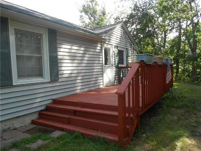 Coventry Single Family Home For Sale: 1249 Main St