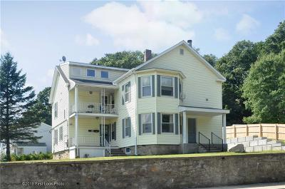 Woonsocket Multi Family Home For Sale: 1255 Manville Rd