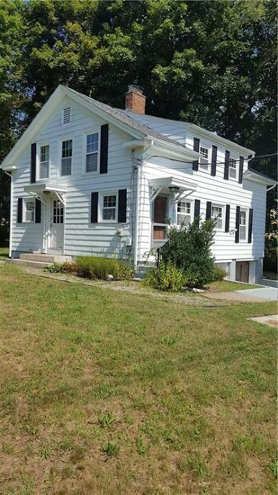 Scituate Single Family Home For Sale: 1603 Plainfield Pike