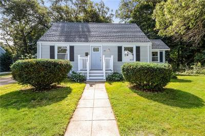 North Kingstown Single Family Home Active Under Contract: 60 Lake Drive