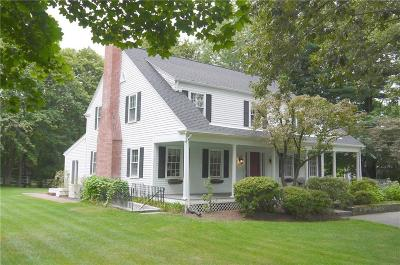 Bristol County Single Family Home For Sale: 19 Rumstick Rd