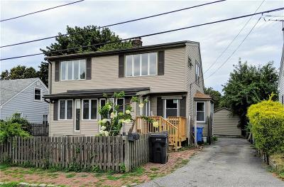 Cranston Single Family Home For Sale: 20 Nickerson St