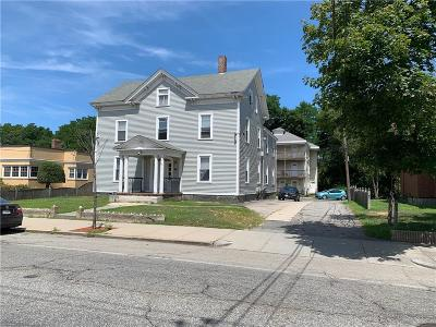 Woonsocket RI Multi Family Home For Sale: $499,900