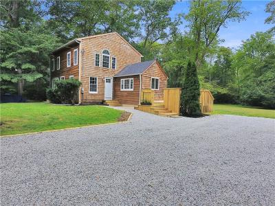 South Kingstown Single Family Home Active Under Contract: 401 Saugatucket Road