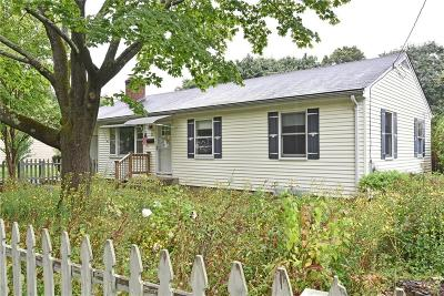North Kingstown Single Family Home Active Under Contract: 52 Ewing Road