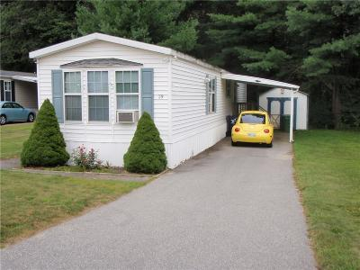 Coventry Single Family Home For Sale: 29 Lane F