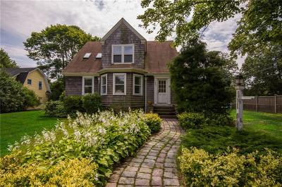 Narragansett Single Family Home Active Under Contract: 286 Kingstown Road