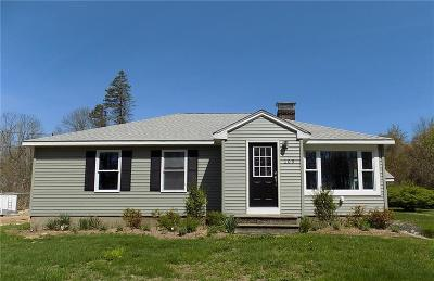 South Kingstown Single Family Home For Sale: 109 Curtis Corner Road Road