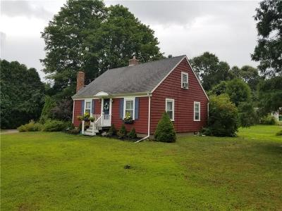 South Kingstown Single Family Home Active Under Contract: 544 Curtis Corner Road