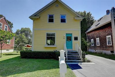 Barrington Single Family Home Active Under Contract: 11 Bradford Street