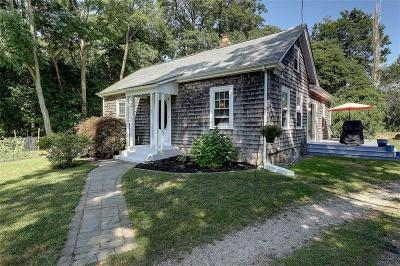 South Kingstown Single Family Home Active Under Contract: 167 Broad Rock Road