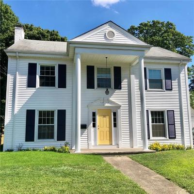 East Providence Single Family Home For Sale: 212 Wilson Avenue