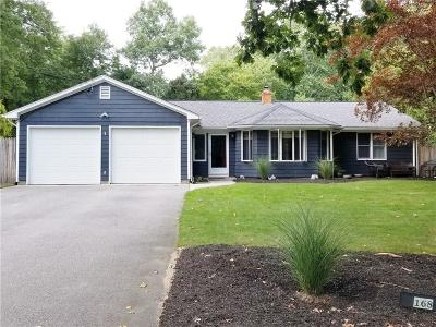 Scituate Single Family Home For Sale: 168 Pine Hill Road