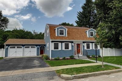 East Providence Single Family Home Active Under Contract: 54 Scott Drive