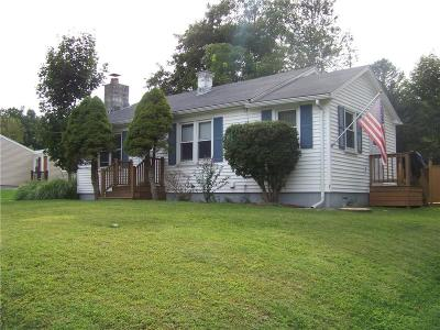 Glocester Single Family Home For Sale: 191 Saw Mill Road