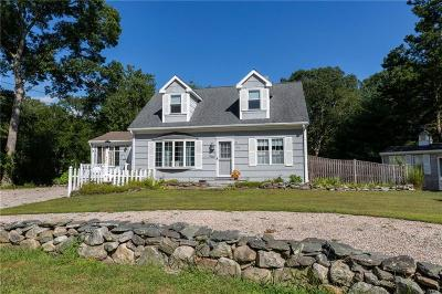 Single Family Home For Sale: 324 Mautucket Road
