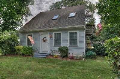 Narragansett Single Family Home For Sale: 87 Cedar Island Road