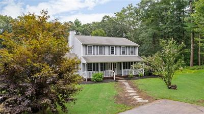 Coventry Single Family Home For Sale: 554 Hill Farm Road