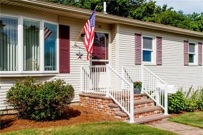 West Warwick Single Family Home For Sale: 111 Tampa Street