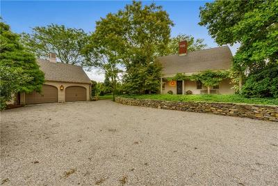 Little Compton Single Family Home For Sale: 89 Old Main Road