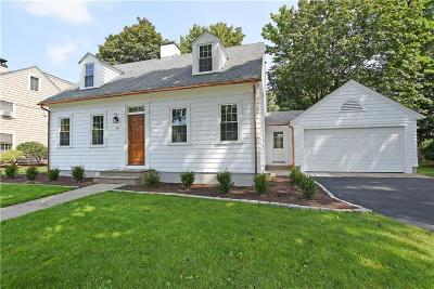 East Providence Single Family Home Active Under Contract: 34 Drowne Parkway