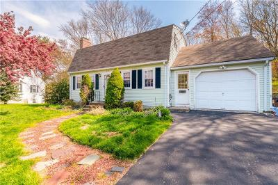 Woonsocket Single Family Home For Sale: 319 Ray Avenue