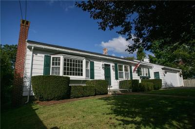 Middletown Single Family Home For Sale: 241 Wolcott Avenue