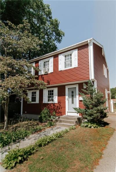 Pawtucket Single Family Home For Sale: 28 Talcott Avenue