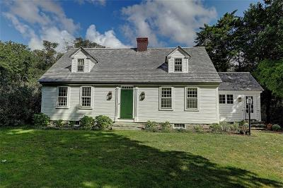 Swansea Single Family Home For Sale: 361 Pearse Road