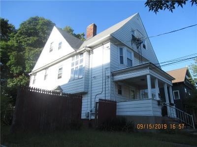 Pawtucket Multi Family Home For Sale: 21 Nickerson Street