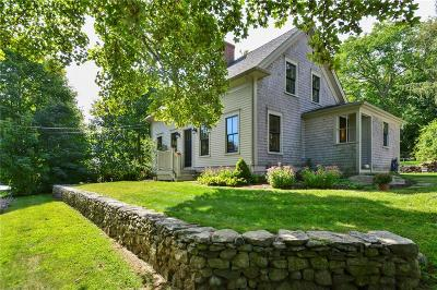 Little Compton Single Family Home For Sale: 73 Stone Church Road