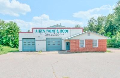 Aiken Commercial For Sale: 642 York Street NE