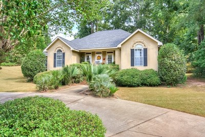 North Augusta Single Family Home For Sale: 427 Cooper Mill Rd