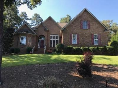 Aiken Single Family Home For Sale: 308 Ascot Drive