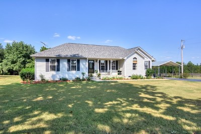 Aiken County Single Family Home For Sale: 1395 Dairy Road