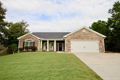North Augusta Single Family Home For Sale: 330 Foxchase Cir
