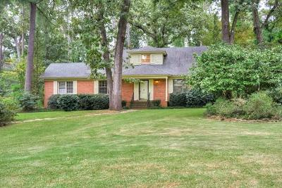 Aiken County Single Family Home For Sale: 114 Idlewild Drive