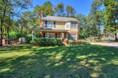 Edgefield County Single Family Home For Sale: 480 Austin Graybill Rd