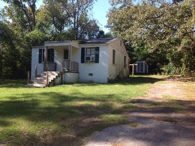 New Ellenton Single Family Home For Sale: 209 Coffee Street