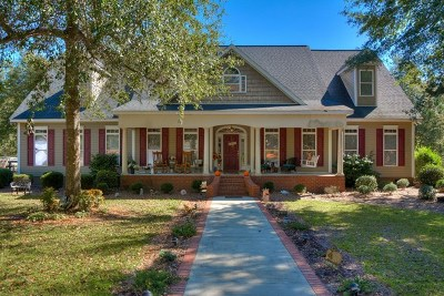Aiken Single Family Home For Sale: 2171 Silver Bluff Rd